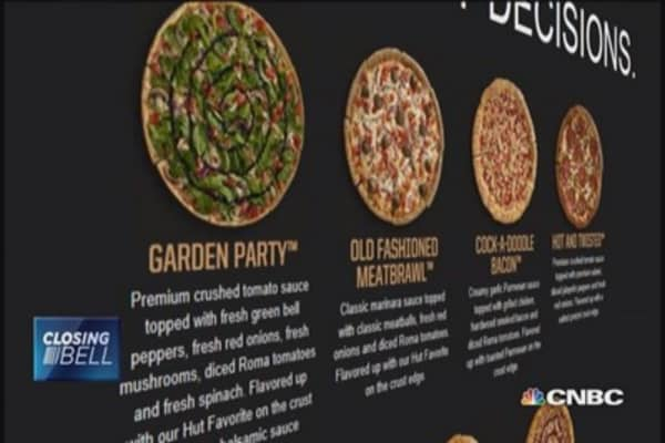 Curry crust? Pizza Hut revamps menu