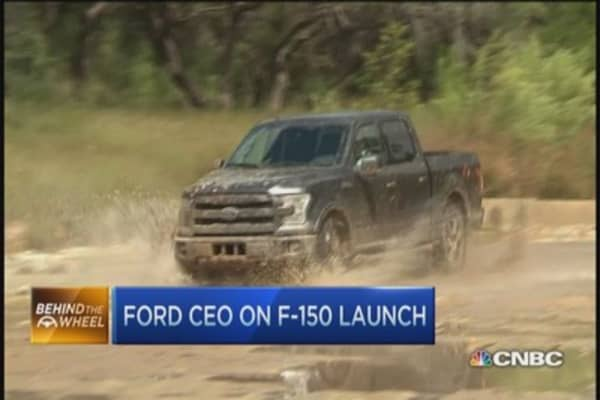 Ford CEO on F-150 launch