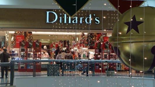 Dillard's department store.