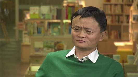 Jack Ma, founder of Alibaba Group Holding Ltd.