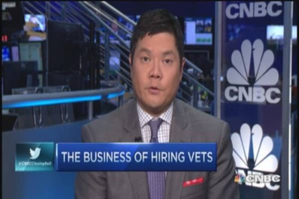 Hiring vets a virtuous cycle