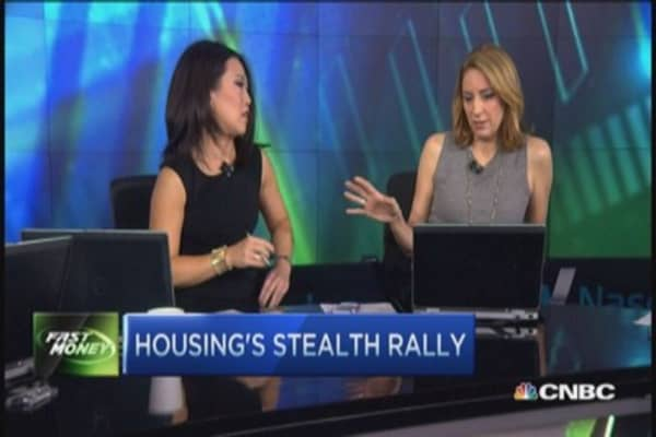 Housing's rally & the undercover catch-up trade