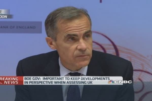 BoE cuts UK growth forecast
