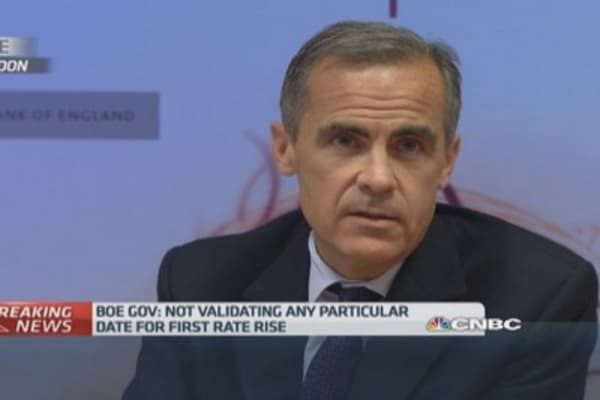 Hawk or dove? 'I'm a pragmatist', says BoE's Carney