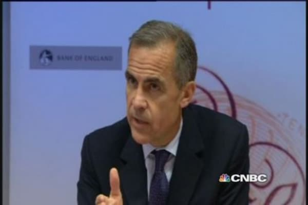BoE's Carney on EBC policy and Europe 'stagnation'