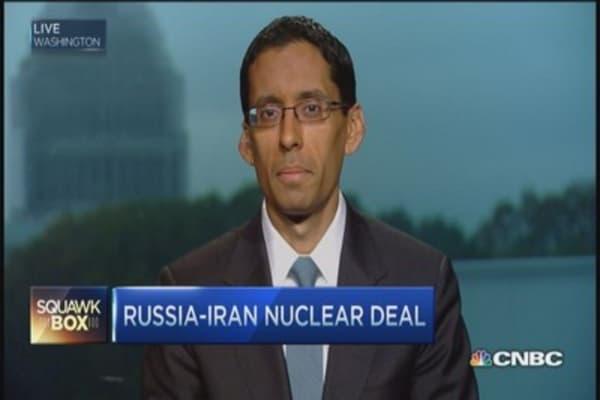 Russia-Iran reach nuclear deal