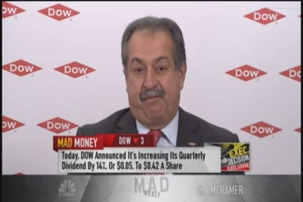 Buy Dow Chemical: Cramer