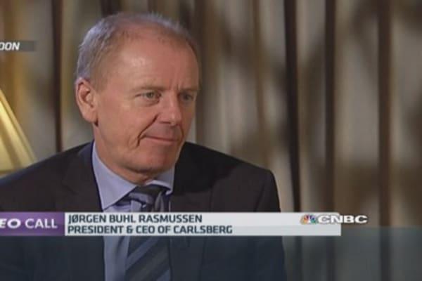 Russia will grow again: Carlsberg CEO