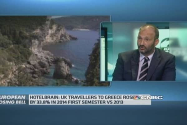 Tourism to be Greece's economic 'savior'?: CEO