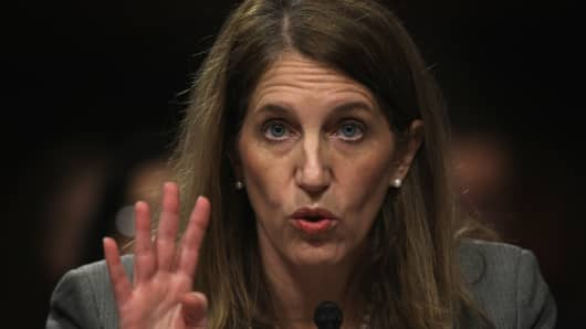 U.S. Secretary of Health and Human Services Sylvia Burwell.