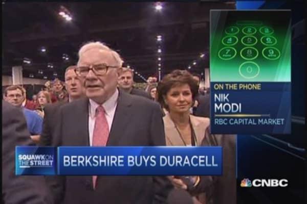 Why Warren Buffett wants Duracell