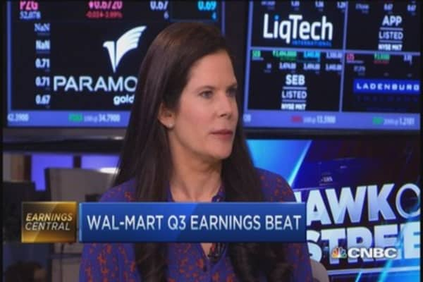 Too early to call Wal-Mart turnaround?