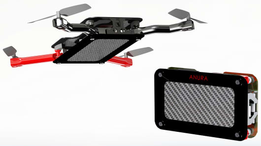 The Anura pocket-size drone.