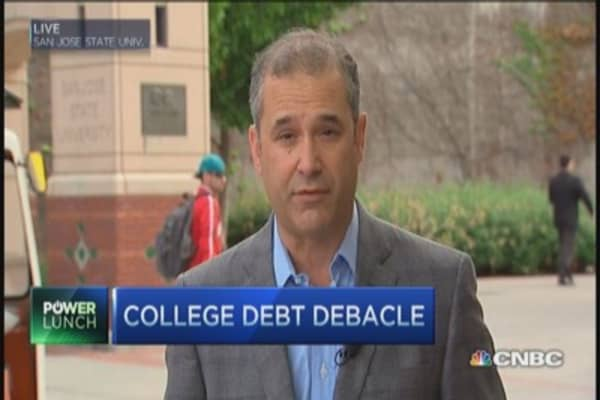 Trillion dollar college debt crisis