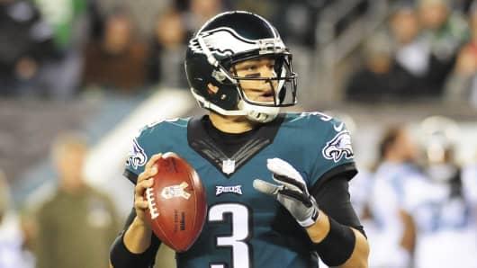 Mark Sanchez of the Philadelphia Eagles