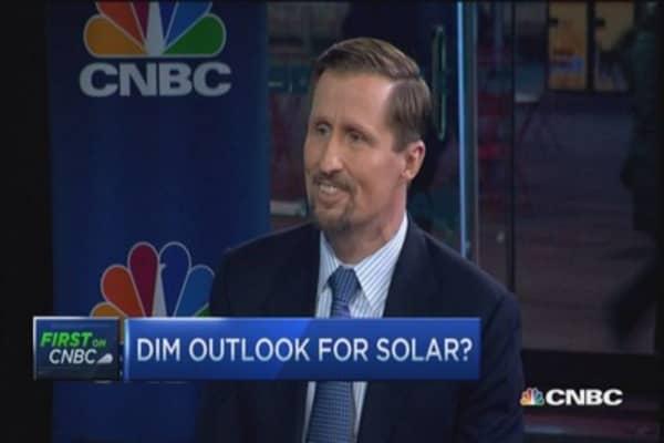 Solar outlook sunny or cloudy?
