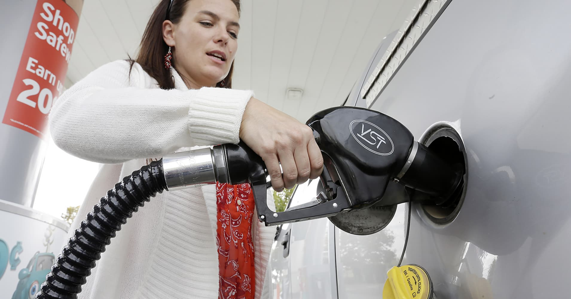 Whether cheaper gas really helps consumers may show up in Friday's ret