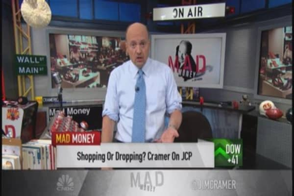 JCP no bargain at $7: Cramer