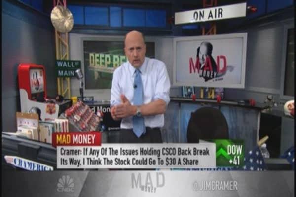 Cramer: Time for WMT, CSCO, BA & DIS to reap rewards