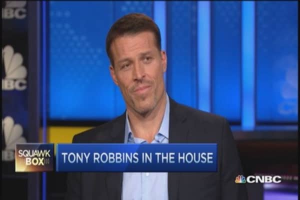 How Tony Robbins got Tudor Jones' mojo back