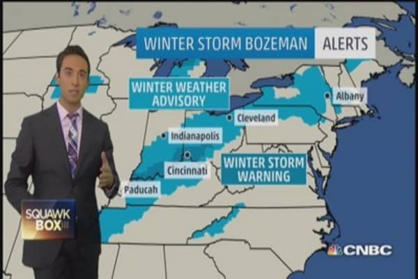 Snow hits Ohio Valley, record lows possible