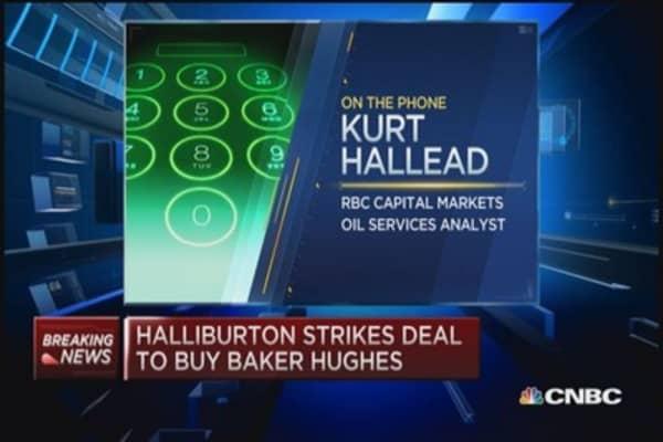 Halliburton buys Baker Hughes for $34.6 billion