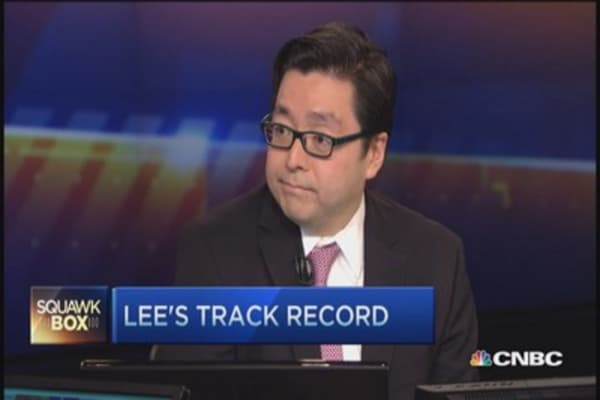 Bull market only mid-cycle: Tom Lee