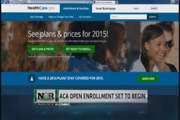 ACA open enrollment set to begin