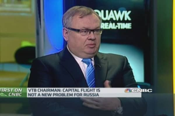 Russia sanctions won't solve issues: VTB CEO