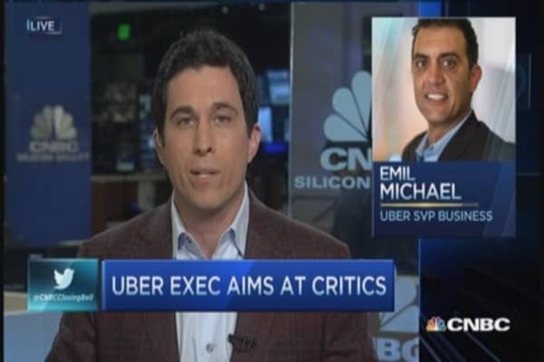 Uber digging up dirt on journalists?