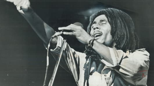 Bob Marley, circa 1976
