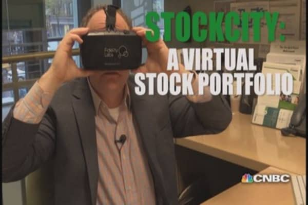 StockCity: A virtual look at your stock portfolio