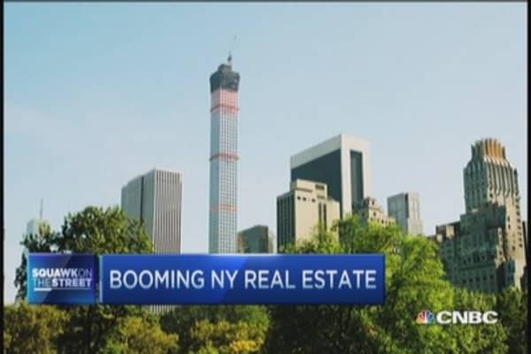 New York's real estate boom