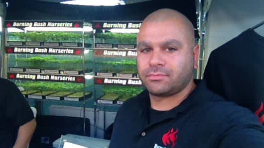 Mitchell Stern founded Burning Bush Nurseries in 2011.