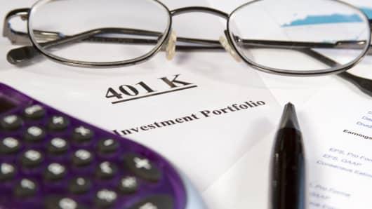 401 (k) portfolio documents