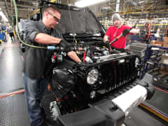 2014 Jeep Wrangler manufacturing