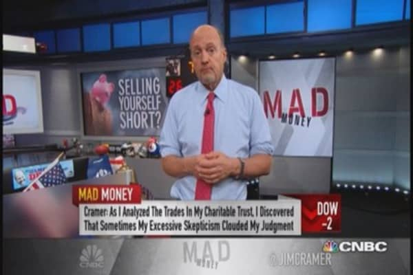 Cramer: Don't let skepticism run away with you