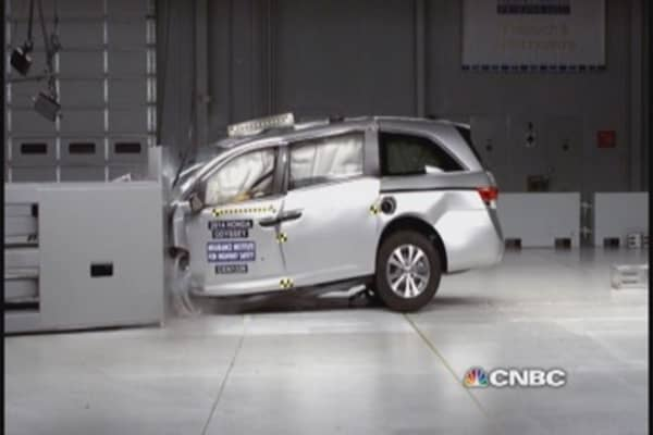 IIHS crash test results