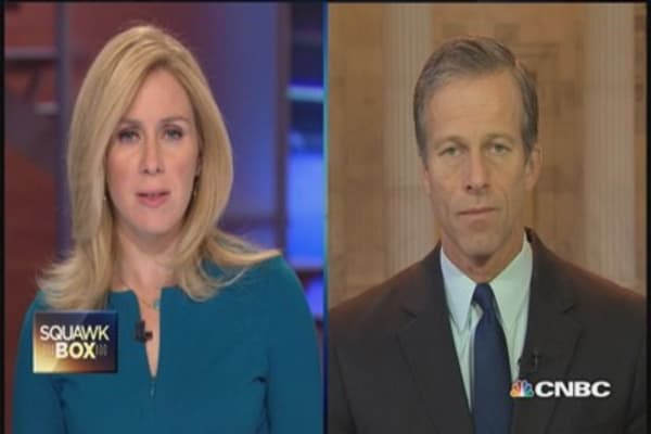 Obama's immigration mistake: Sen. Thune