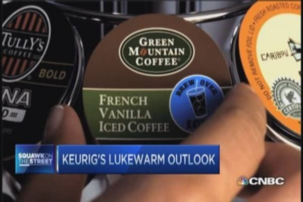 Keurig's hot quarter, cold outlook