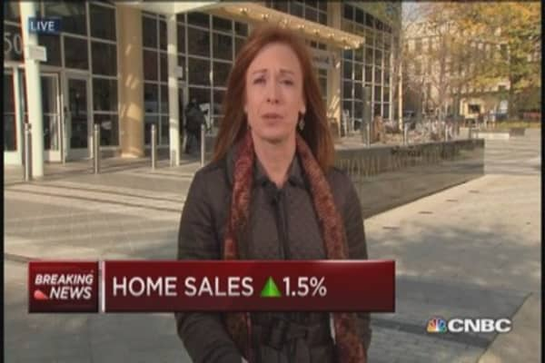 Existing home sales gain year-over-year