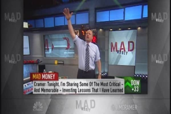 Cramer: Stock market's a long-term contest