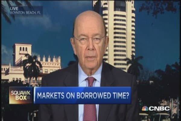 Stocks rally due to lack of alternatives: Wilbur Ross