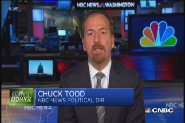 Chuck Todd: Obama regrets not doing this earlier
