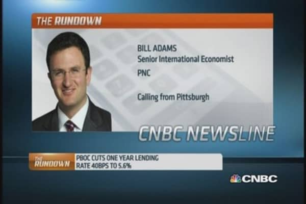 Reading PBOC's surprise rate cut