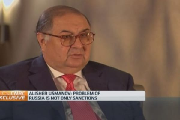Sanctions not Russia's only problem: Billionaire