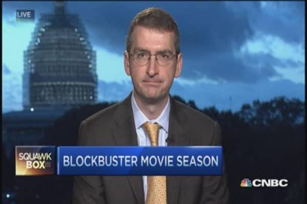 Movie slate stock picks