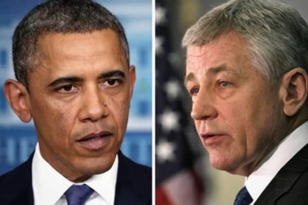Pres. Obama: Hagel bolstered America leadership globally