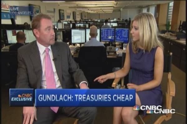 Gundlach: Fed may hike rates 'just to see what happens'