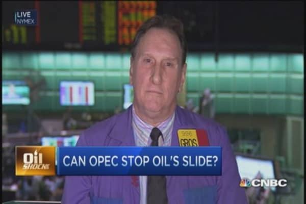 Can OPEC stop oil's slide?